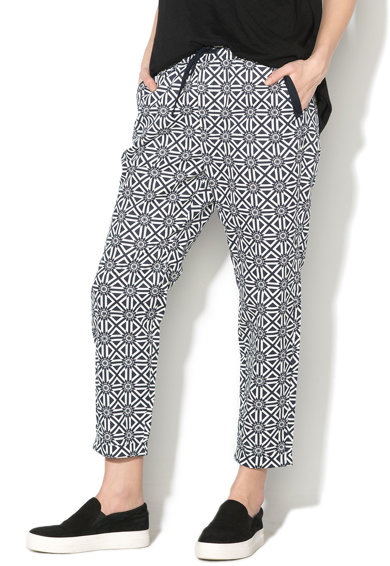 G-Star Raw Pantaloni crop cu model geometric Femei