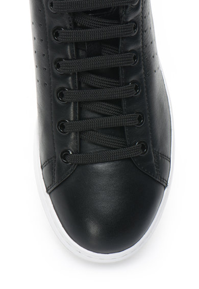 Geox Jaysen bőr plimsolls cipő kontrasztos részletekkel női