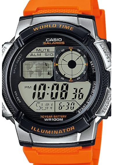 Casio Ceas cronograf cu lumina de fundal Barbati