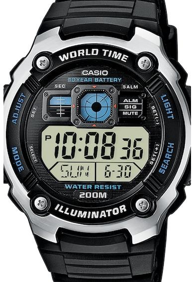 Casio Часовник с хронограф и подсветка Мъже