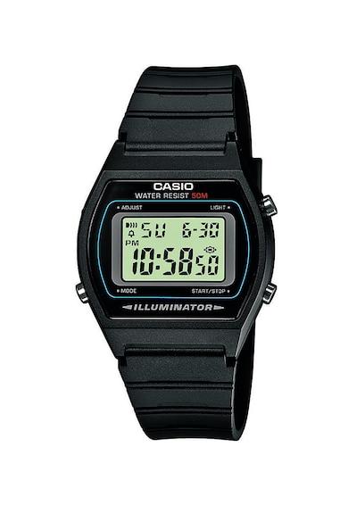Casio Ceas cronograf digital cu o curea din rasina Barbati