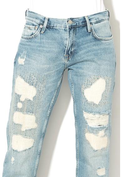 Pepe Jeans London Blugi regular fit cu detalii cu aspect deteriorat Betsie Femei