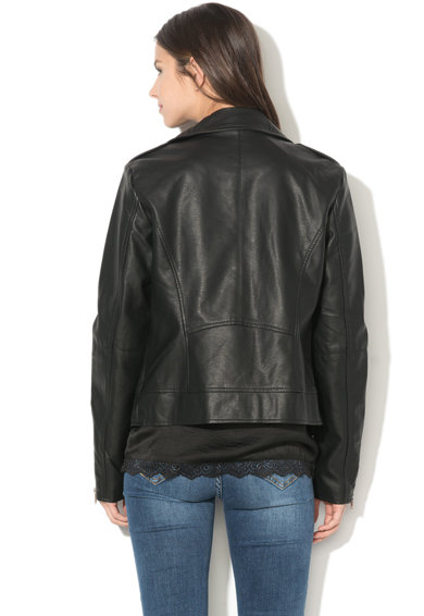 Vila Cara műbőr motoros dzseki női