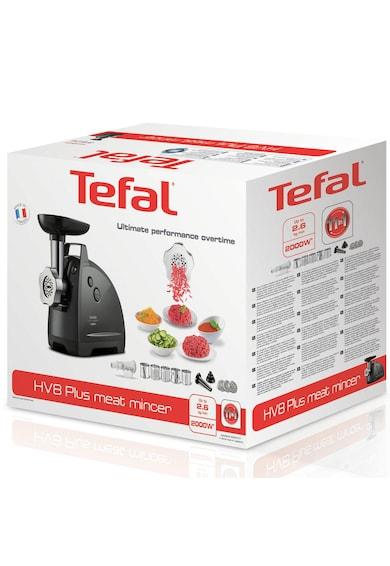 Tefal Masina de tocat carne  HV8 Plus , 2000 W, 2.6 kg/min, Functie Reverse, Negru Femei