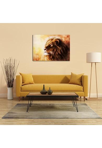 Startonight Tablou DualView  Leu Portret, Animale, Luminos in intuneric, 70 x 100 cm Femei