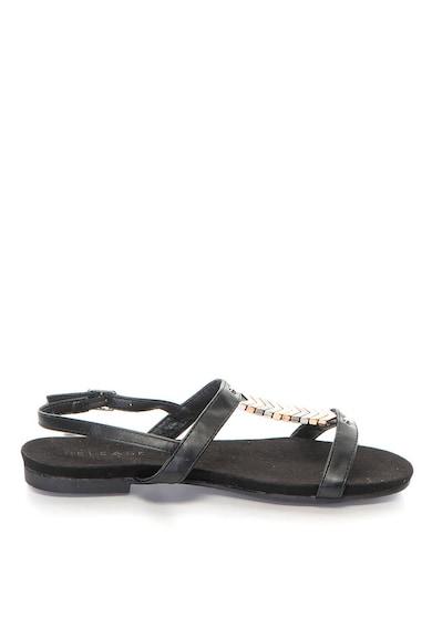 Release Дамски сандали  Ниска подметка, Метални аксесоари, Еко кожа отвън/Естествена кожа отвътре Жени