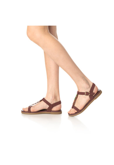 Release Sandale cu talpa joasa si aplicatii metalice Femei