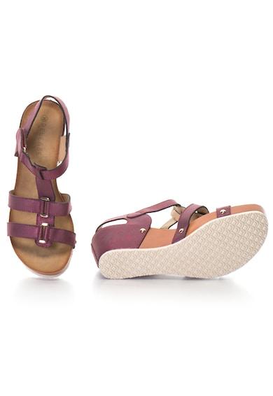Release Sandale cu platforma din piele sintetica Femei