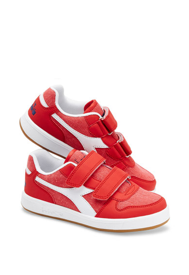 Diadora Pantofi sport de panza si piele sintetica PLAYGROUND CV PS Baieti