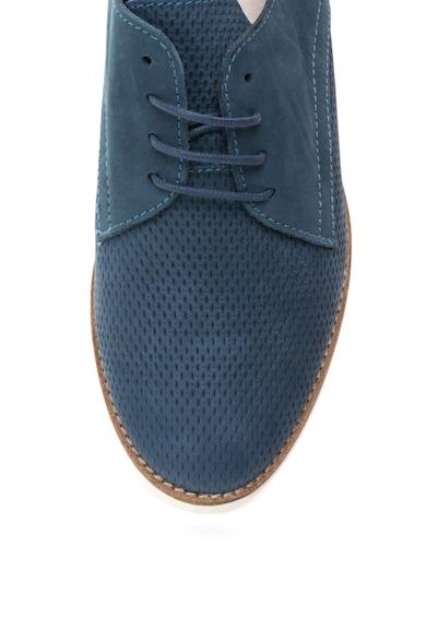 Aldo Pantofi derby de piele nabuc cu perforatii decorative Pantoja Femei