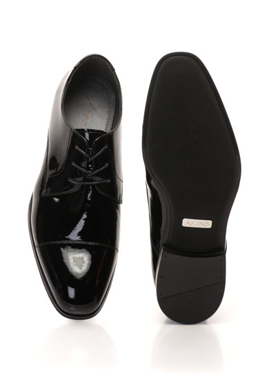 Aldo Badolla lakkbőr cipő férfi