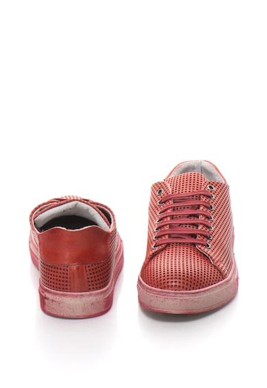 Zee Lane Pantofi casual din piele cu perforatii Barbati