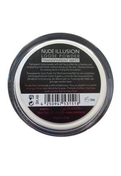 Catrice Pudra pulbere  Nude Illusion Loose Transparent Matt, 11 g Femei