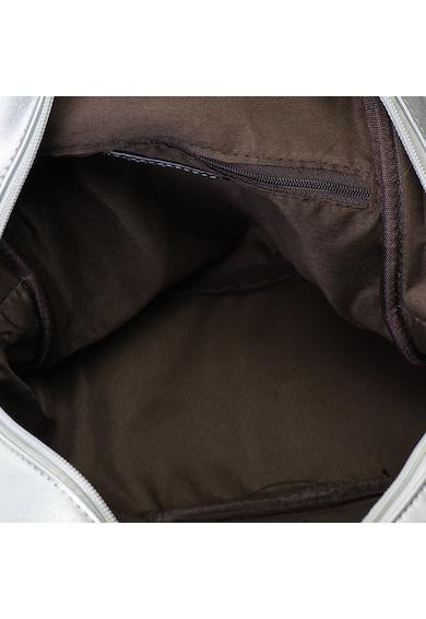 Release Rucsac cu buzunar in fata si fermoar pe vertical,  piele artificiala Femei