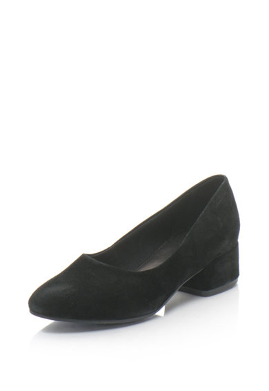 Vagabond Shoemakers Pantofi din piele intoarsa cu toc masiv Jamilla Femei