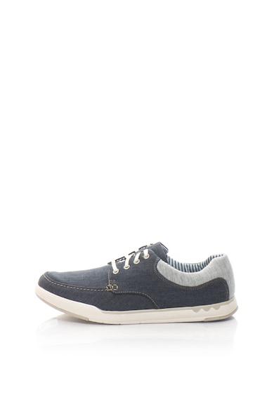 Clarks Спортно-елегантни обувки Step от деним Мъже
