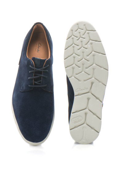 Clarks Pantofi derby din piele intoarsa Vennor Barbati