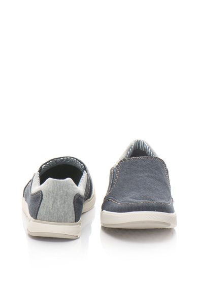 Clarks Pantofi slip-on casual din denim Step Barbati