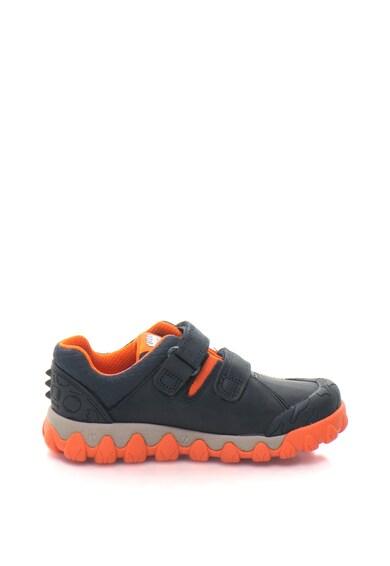 Clarks Tyrex Walk tépőzáras műbőr cipő Lány