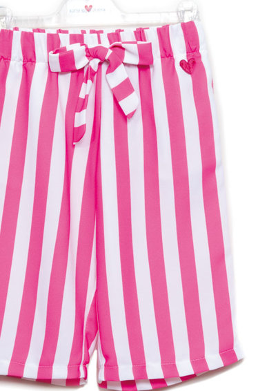 Agatha Ruiz de la Prada Pantaloni in dungi cu snur Fete