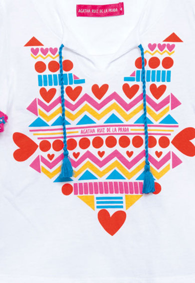Agatha Ruiz de la Prada Тениска с фигурална шарка Момичета