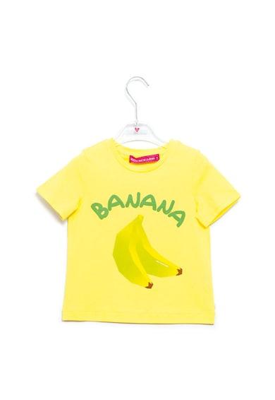 Agatha Ruiz de la Prada Тениска с шарка на банан Момичета