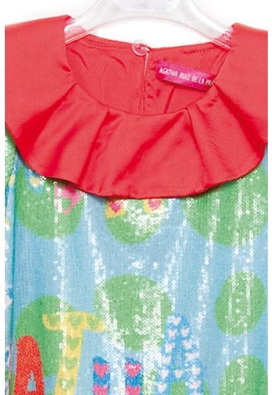 Agatha Ruiz de la Prada Разкроена рокля с пайети Момичета
