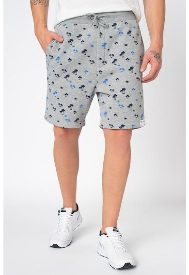 Haily's Haily's, Pantaloni sport scurti cu captuseala din fleece si talie elastica cu snur Ferris Barbati