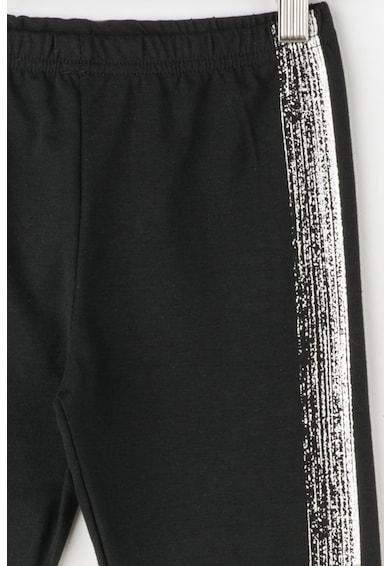 Zee Lane Kids Zee Lane Denim, Set de bluza si colanti cu imprimeu metalic Fete