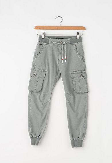 Zee Lane Kids Pantaloni jogger cargo cu talie elastica Baieti