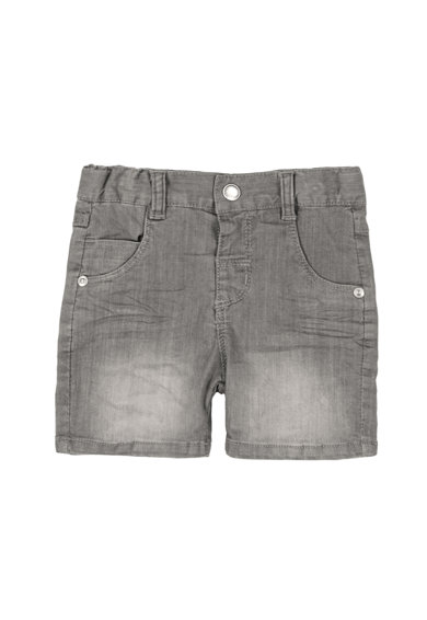 boboli Pantaloni scurti din denim cu aspect decolorat Baieti