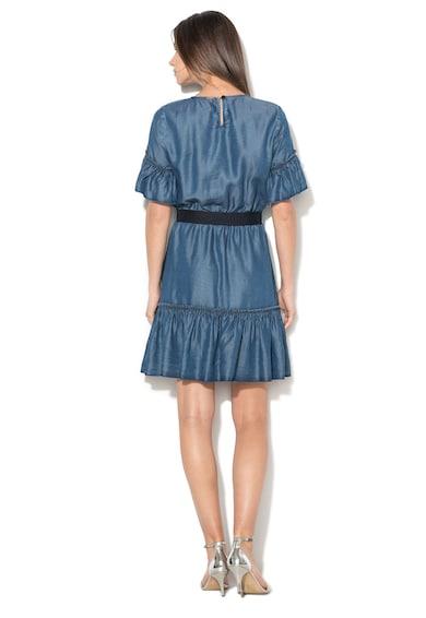 Liu Jo Rövid lyocell ruha fodrokkal női