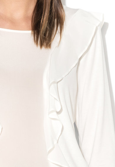 Liu Jo Dzsörzé blúz selyem betétekkel és fodrokkal női