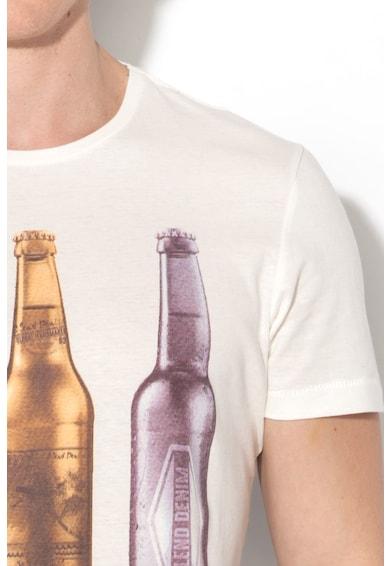 BLEND Regular Fit grafikai mintás póló férfi