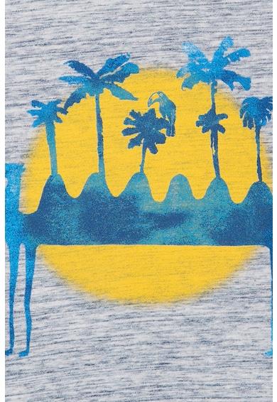 Catimini Tricou cu imprimeu tropical Baieti