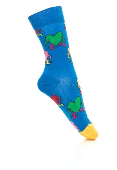 Happy Socks Set de sosete cu model grafic, Unisex - 3 perechi Femei