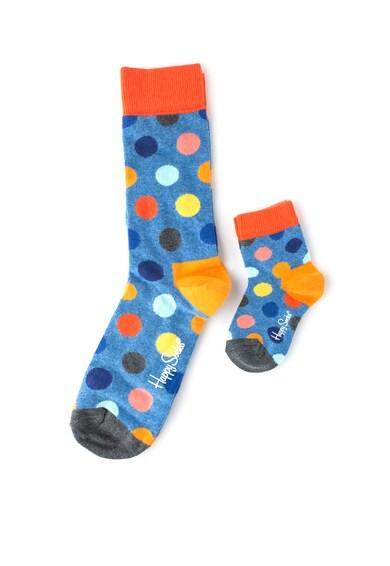 Happy Socks Set de sosete cu buline - 2 perechi Femei