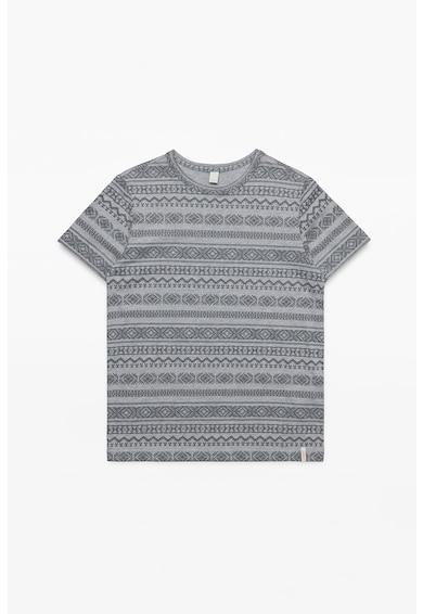 Esprit Десенирана тениска с овално деколте Момчета