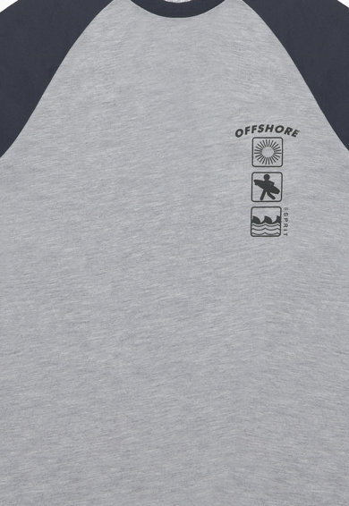 Esprit Тениска с ръкави тип реглан и фигурална щампа Момчета
