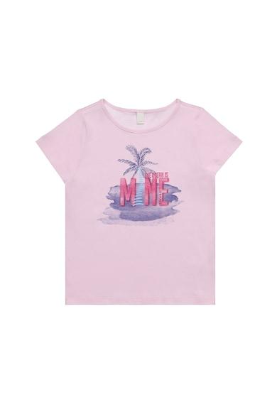Esprit Тениска с фигурална щампа Момичета