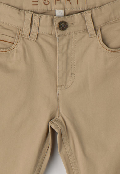 Esprit Pantaloni cu croiala dreapta si talie ajustabila Baieti