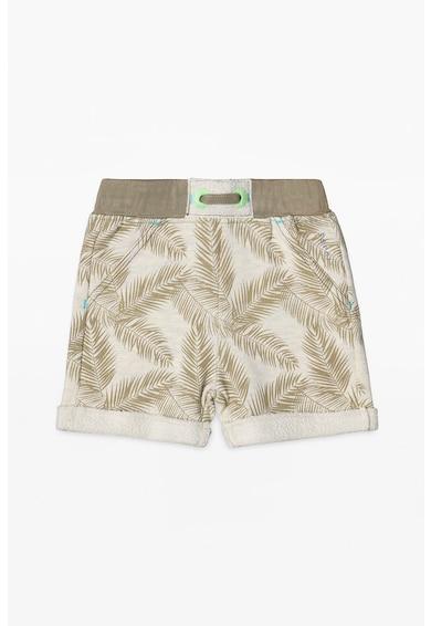 Esprit Foliage mintás bermuda nadrág visszahajtott mandzsettákkal Fiú