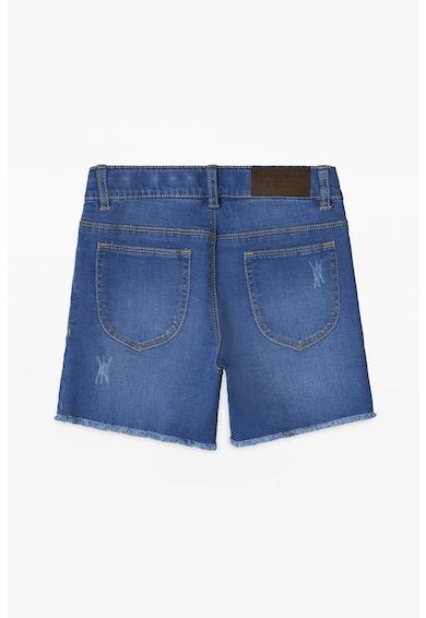 Esprit Къс панталон от деним с бродерия Момичета