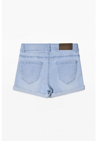 Esprit Дънков къс панталон с навити маншети Момичета