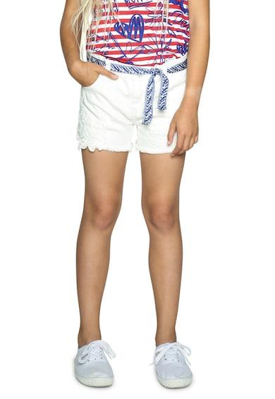 DESIGUAL Къс панталон от деним с бродерии Момичета