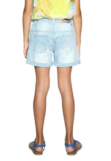 DESIGUAL Къс панталон от деним с пайети Момичета