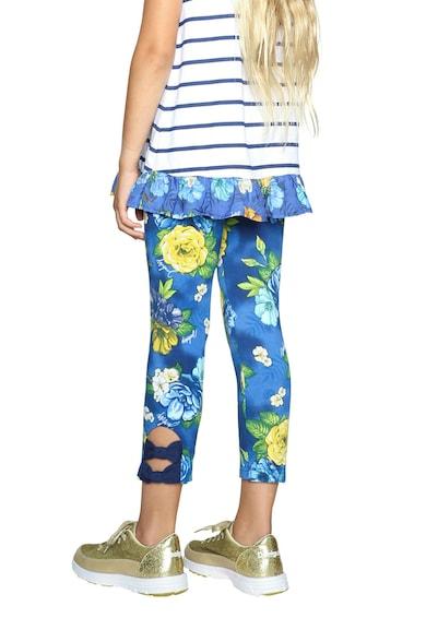 DESIGUAL Клин над глезена с панделка и флорална шарка Момичета