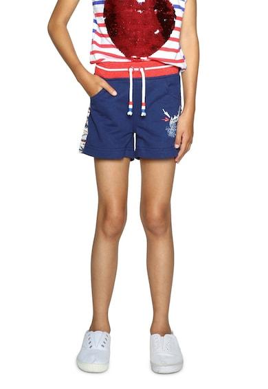 DESIGUAL Къс панталон с еластична талия и връзка Момичета