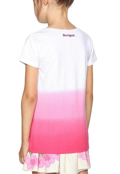 DESIGUAL Тениска с овално деколте и преливащи нюанси Момичета