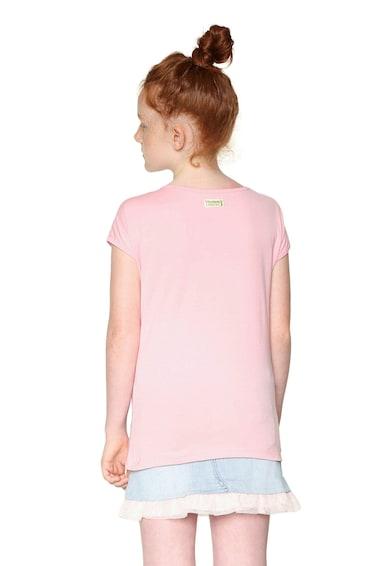 DESIGUAL Десенирана тениска с овално деколте Момичета